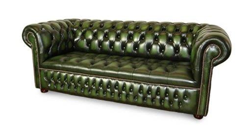 Chesterfield zielone